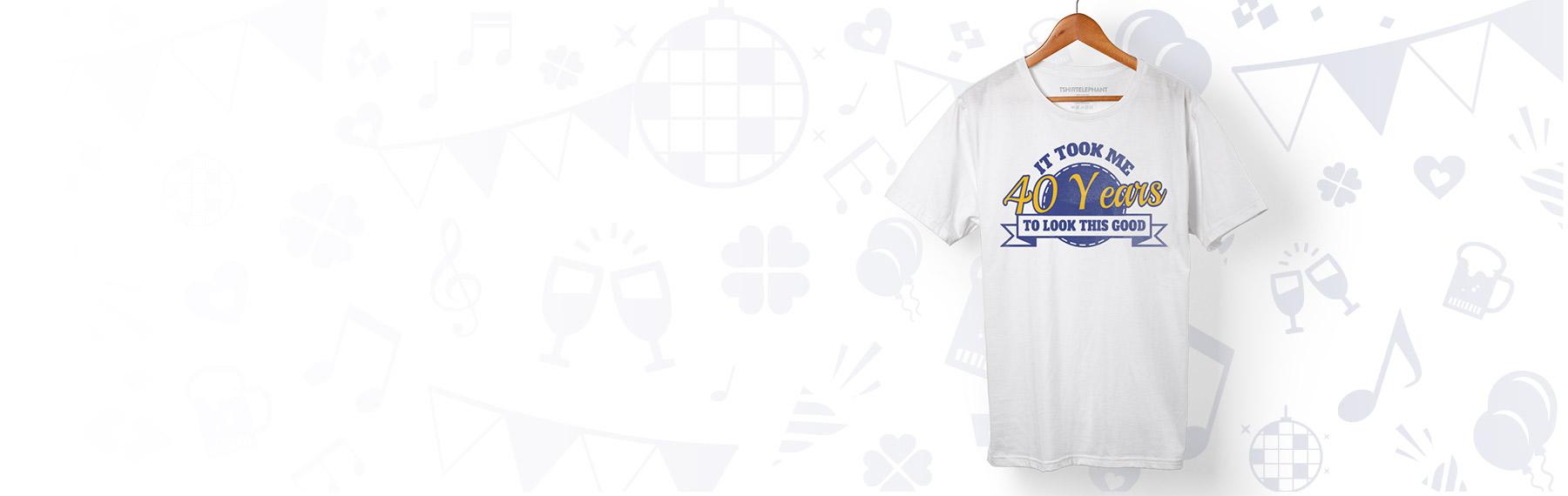 bd4395fce Design Custom Birthday T-Shirts Online in Canada | T-Shirt Elephant