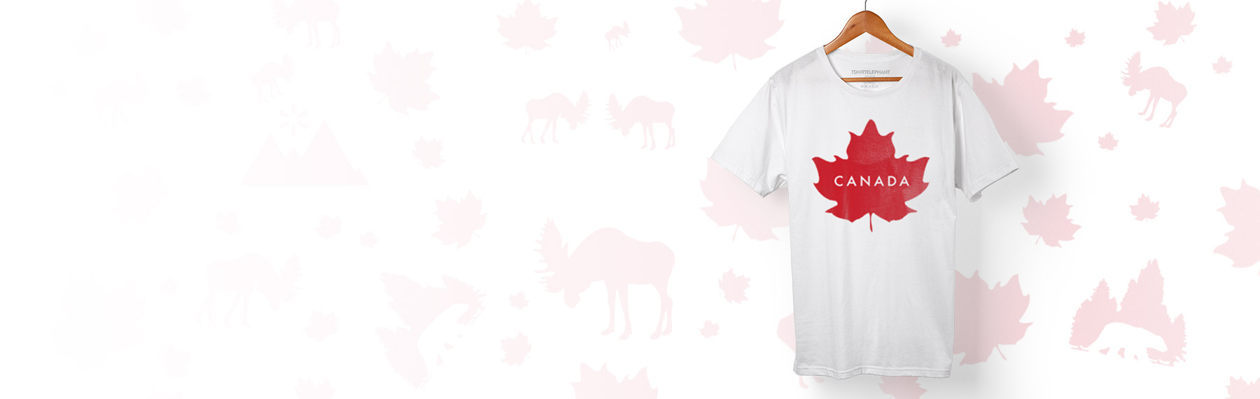 Custom canada day t shirts design online for Personalized t shirts canada