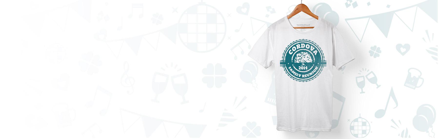 Custom Family Reunion T Shirts Design Online