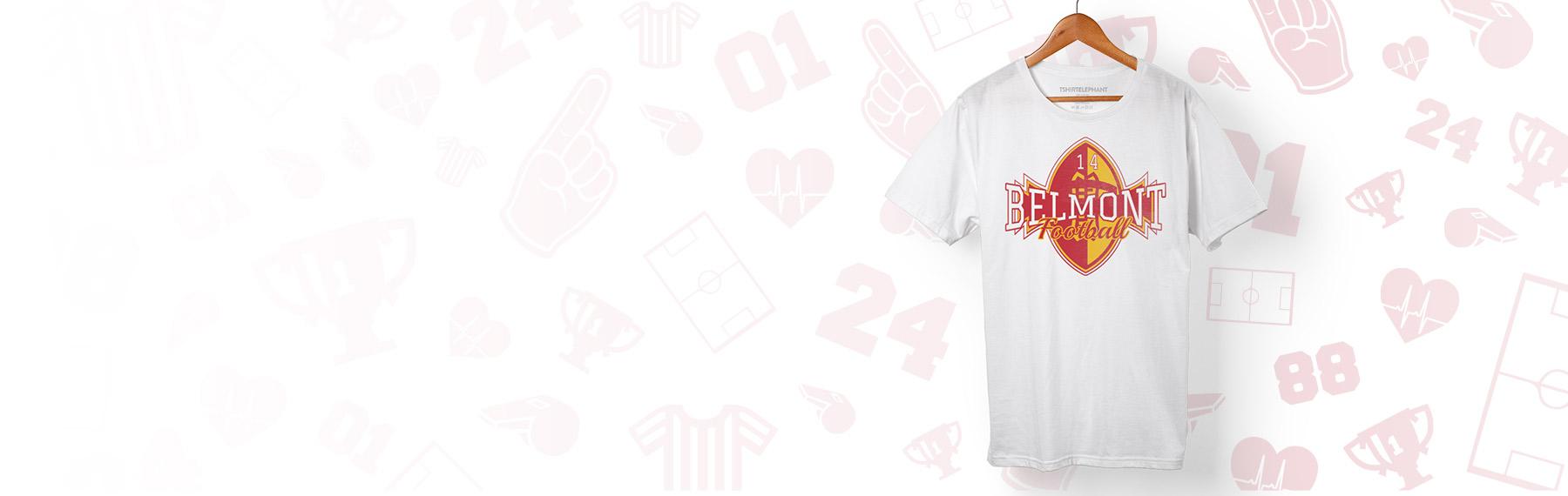 Custom Football Team T Shirts Jerseys Design Online