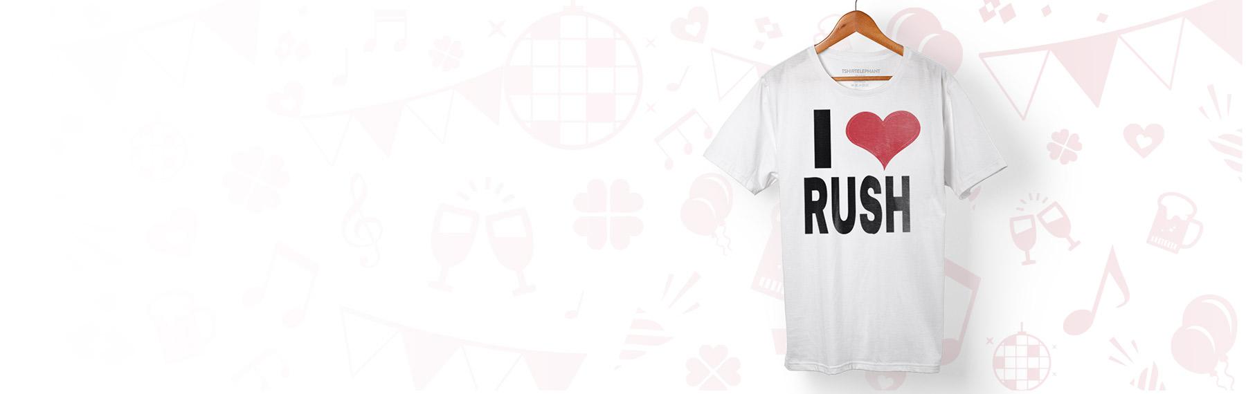 Design Custom Rush Apparel Online In Canada T Shirt Elephant