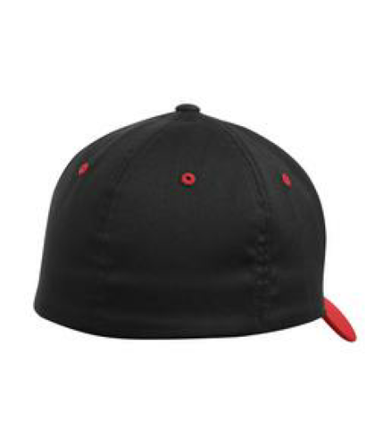 Flexfit Colour-block Fitted Hat. back Image