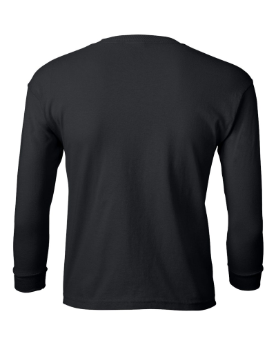 Ultra Cotton Youth Long Sleeve T-Shirt back Image