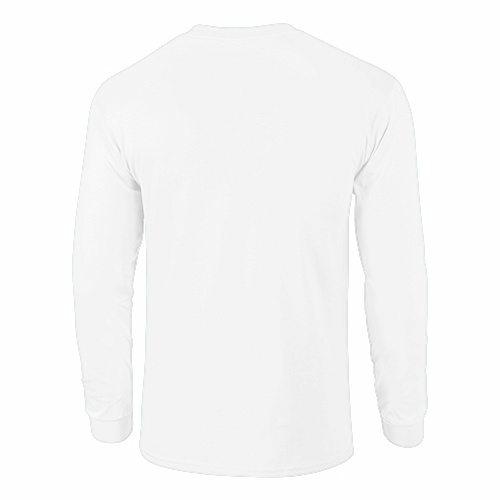 bb67c7a4 White HD Cotton Long Sleeve T-Shirt   T-Shirts Elephant
