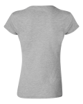 Ladies' SoftStyle Fitted T-Shirt back Thumb Image