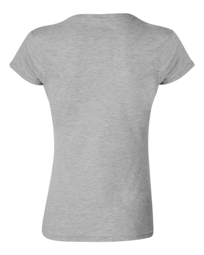 Ladies' SoftStyle Fitted T-Shirt back Image