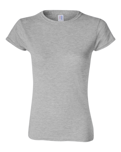 Ladies' SoftStyle Fitted T-Shirt front Image