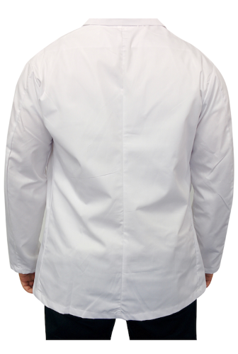 Short Lab Coat back Image