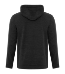 NEW! ATC™ DYNAMIC HEATHER FLEECE HOODED SWEATSHIRT back Thumb Image