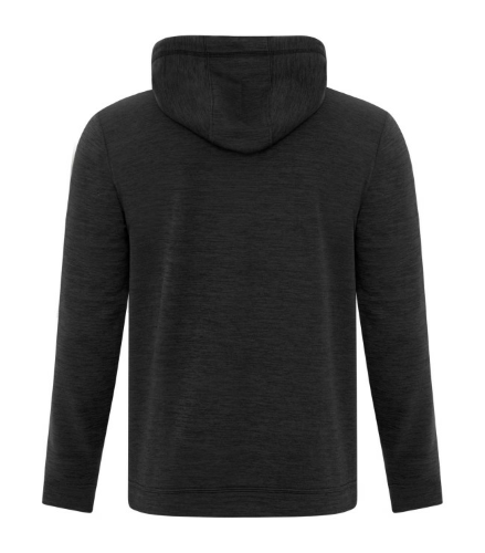 NEW! ATC™ DYNAMIC HEATHER FLEECE HOODED SWEATSHIRT back Image