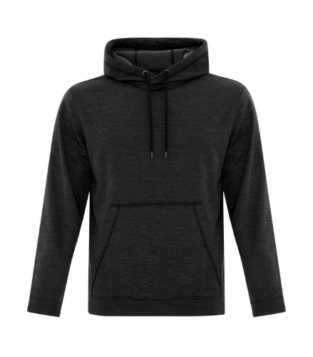 NEW! ATC™ DYNAMIC HEATHER FLEECE HOODED SWEATSHIRT front Image