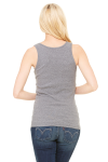 Ladies' Stretch Rib Tank back Thumb Image