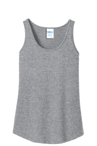 Ladies TopT Hthr Tank Port Cotton 100 Athletic Shirts Company H9We2YEID