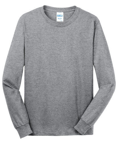 NEW! ATC™ EVERYDAY COTTON LONG SLEEVE TEE front Image