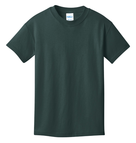 Youth 100% Cotton T-Shirt front Image