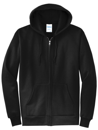 NEW! ATC™ EVERYDAY FLEECE FULL ZIP HOODED SWEATSHIRT front Image